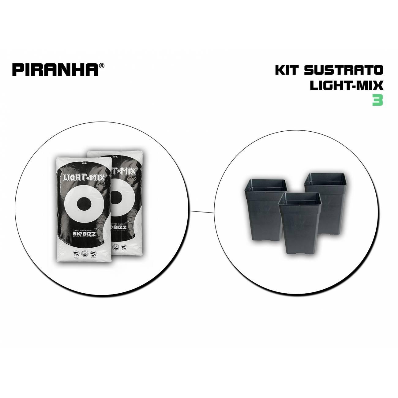 Kit Sustrato 3 Light Mix
