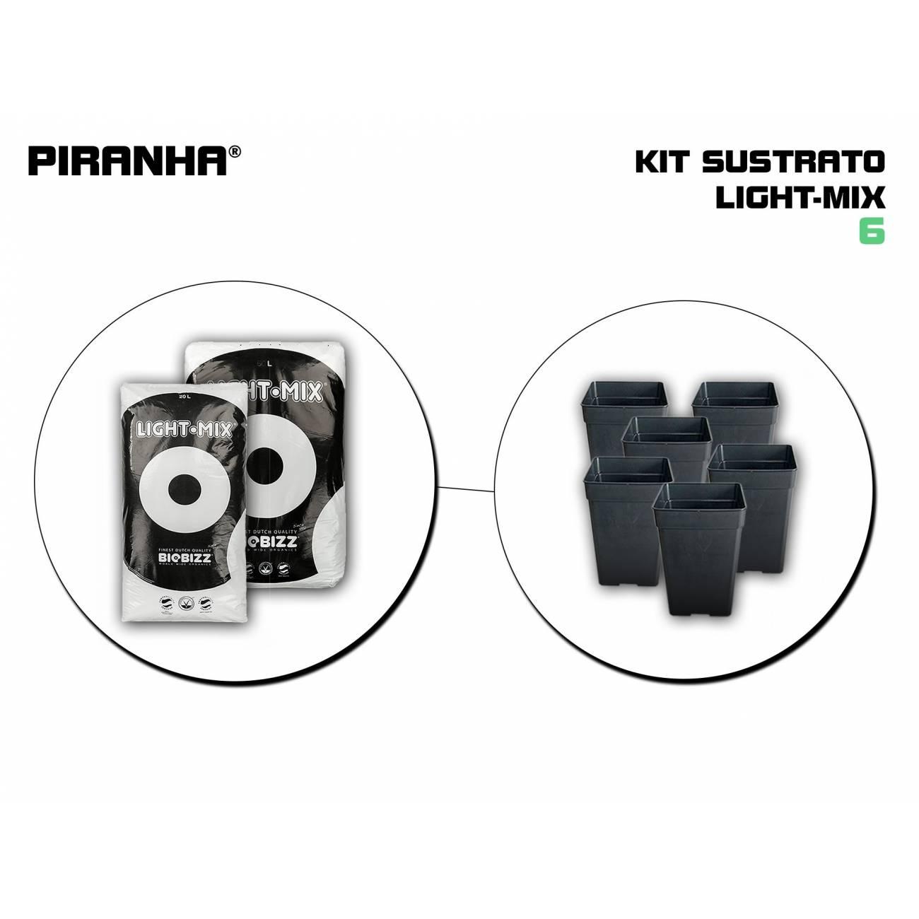 Kit Sustrato 6 Light Mix