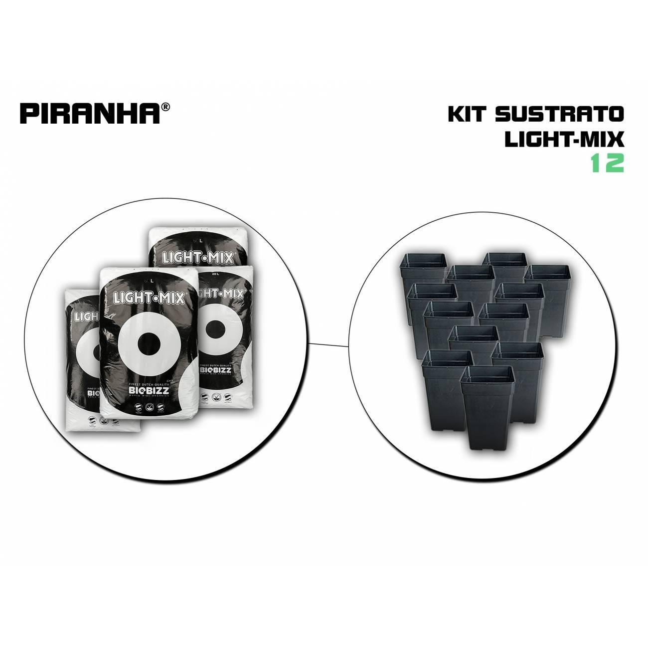 Kit Sustrato 12 Light Mix