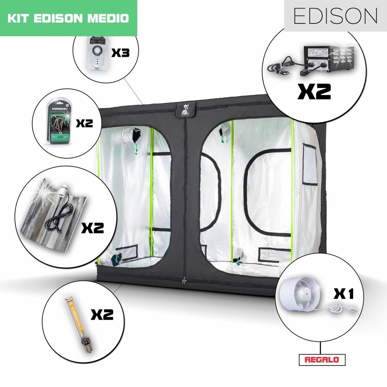 Kit Edison Monster 2 - 1200W Medio