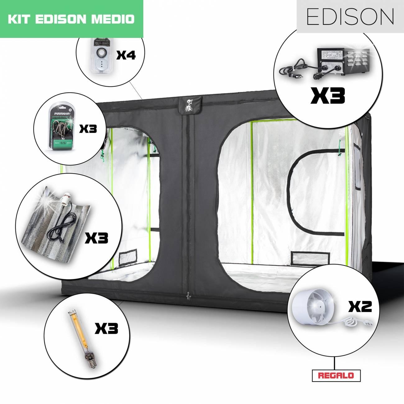 Kit Edison Monster 3 - 1800W Medio