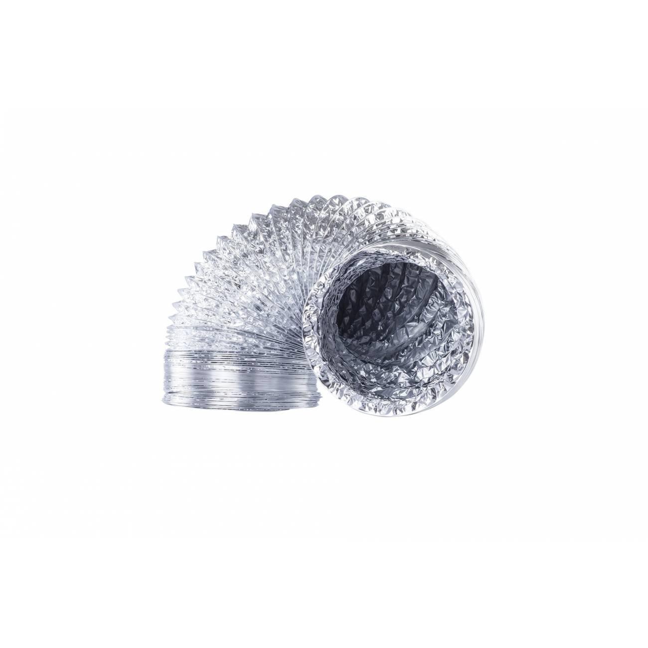 Ducto de Aluminio Flexible 4'', 3m