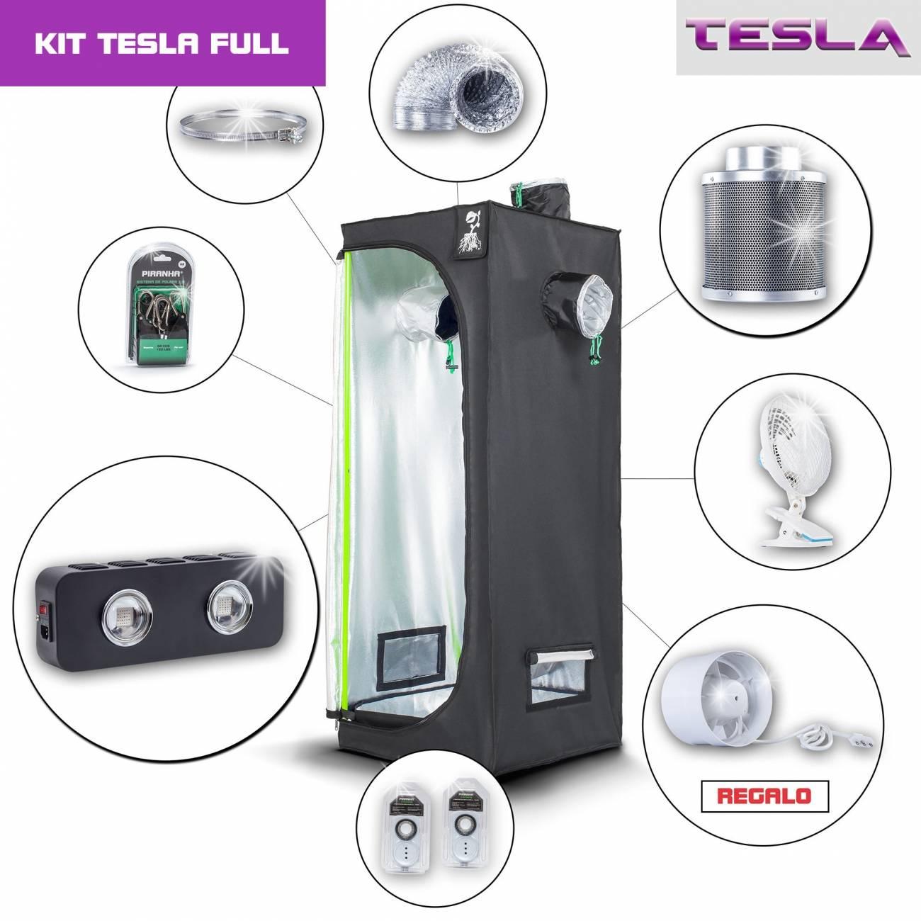 Kit Tesla 60 - T180W Completo