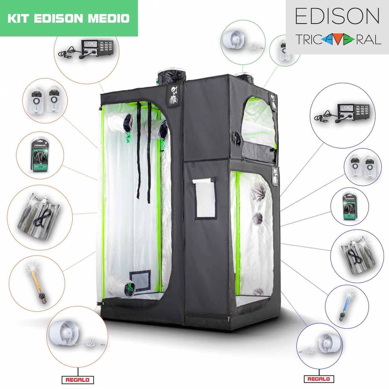 Kit Tricameral Edison Medio