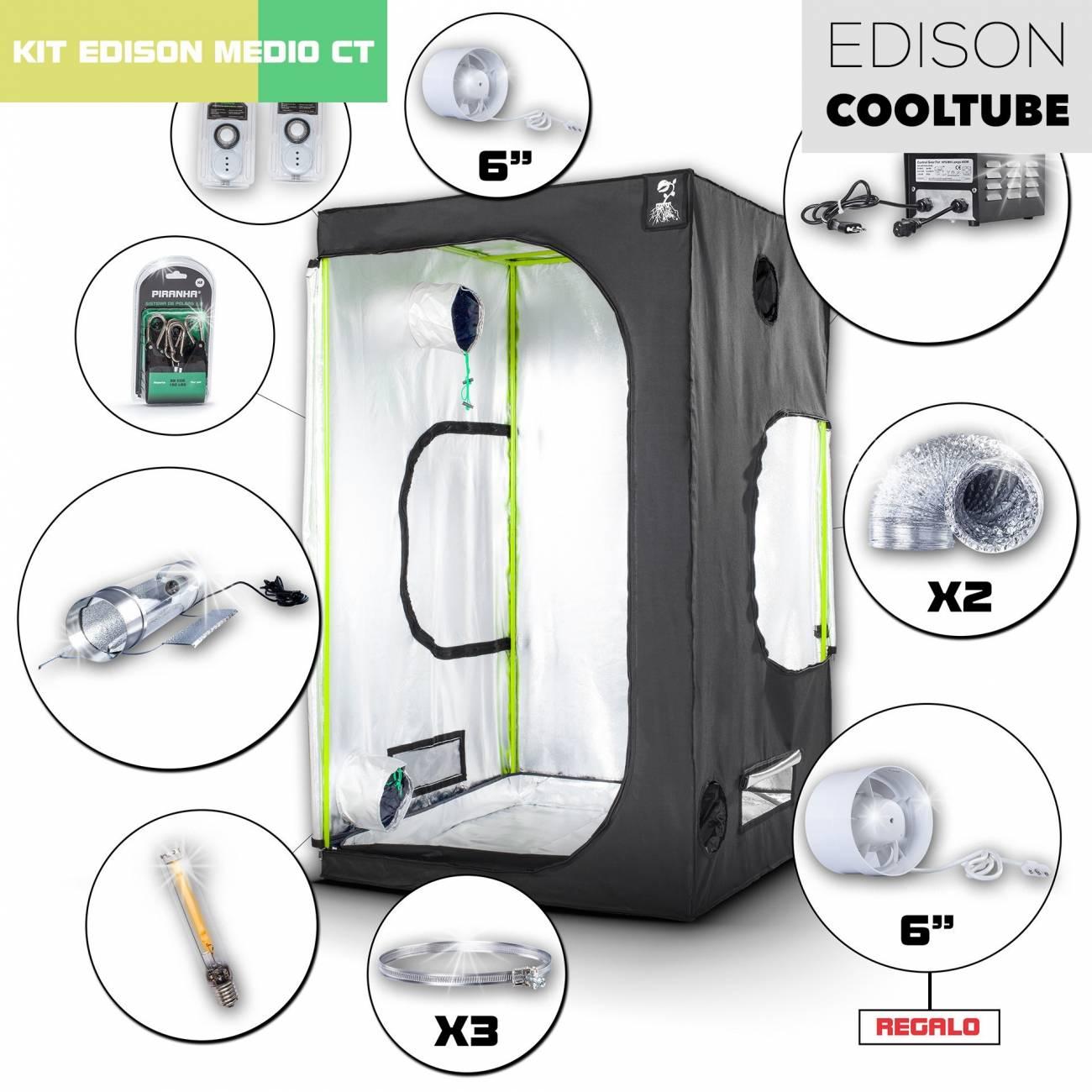 Kit Edison CoolTube 120 - 600W Medio