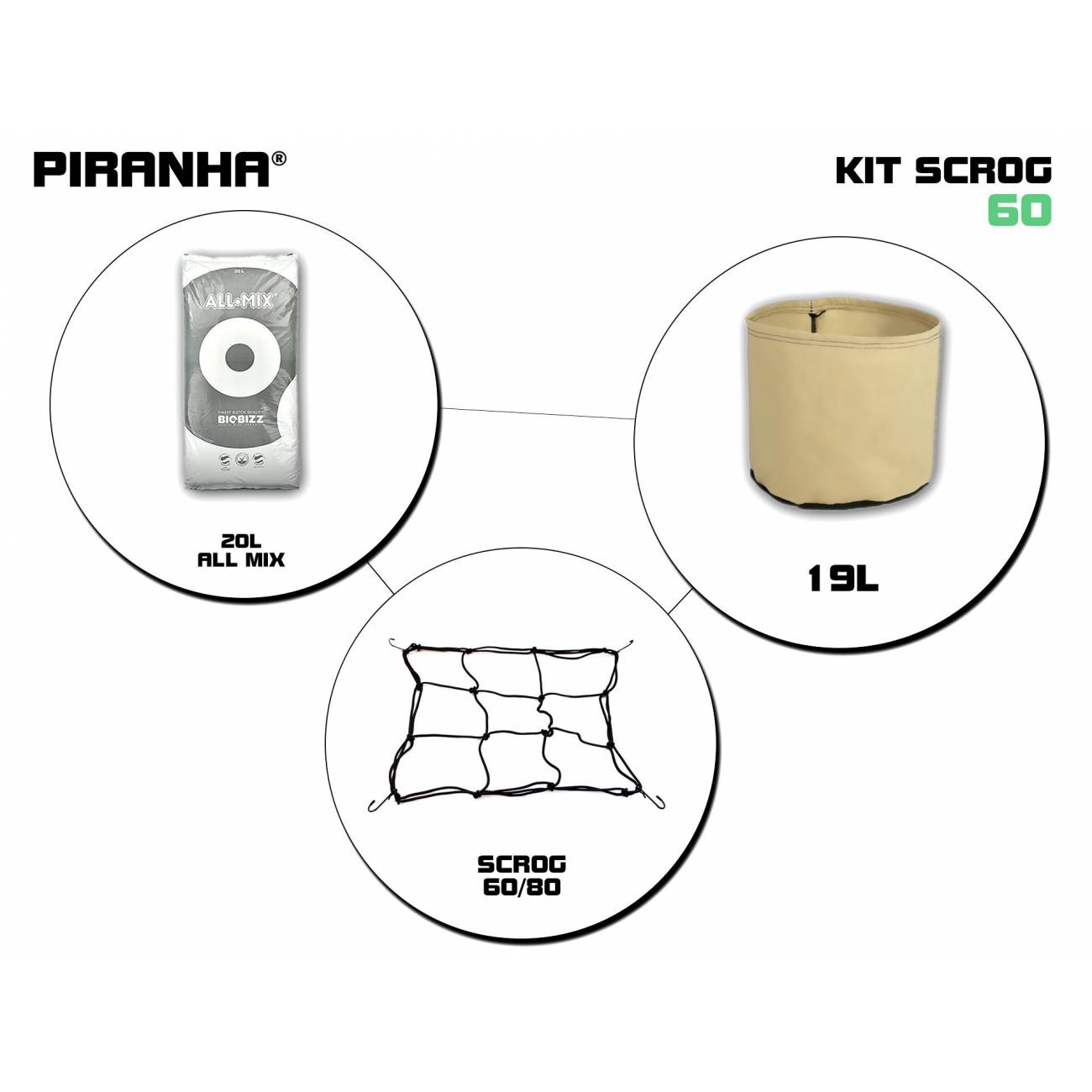 Kit SCROG 60