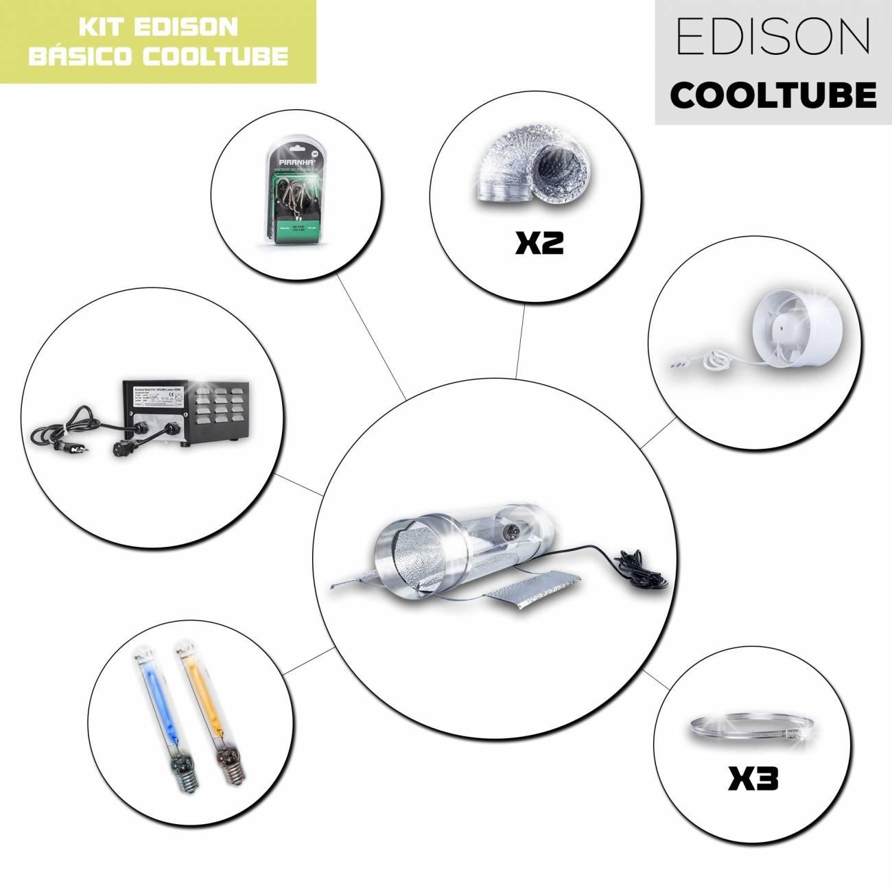 Kit Eléctrico Edison HID 600W CoolTube