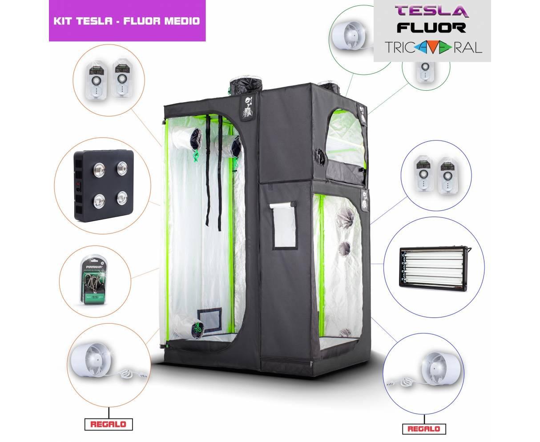Kit Tricameral Tesla/Fluor...