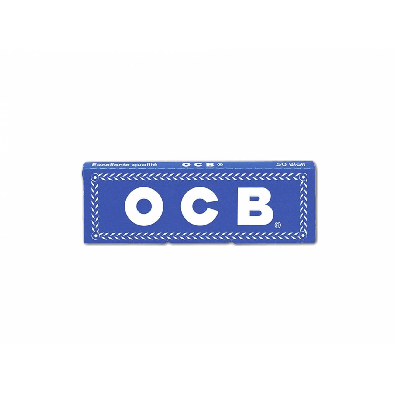 Papelillo OCB Azul Premium 1 1/4
