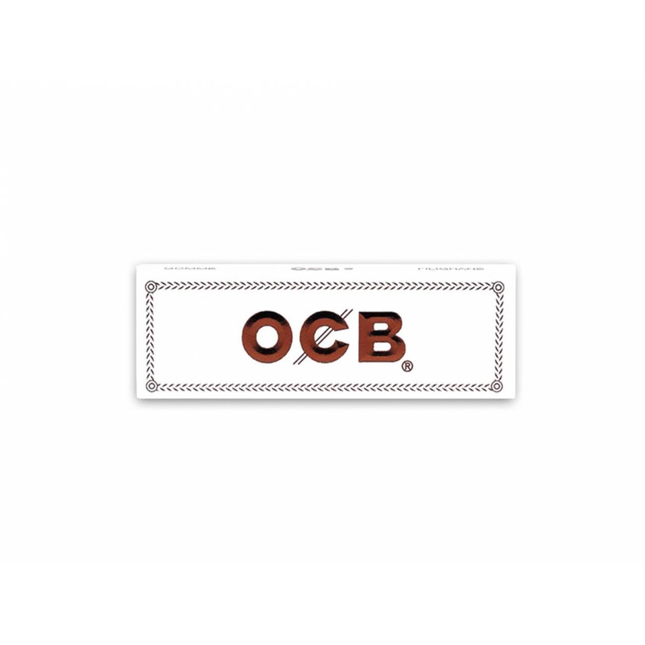 Papelillo OCB Blanco 1 1/4